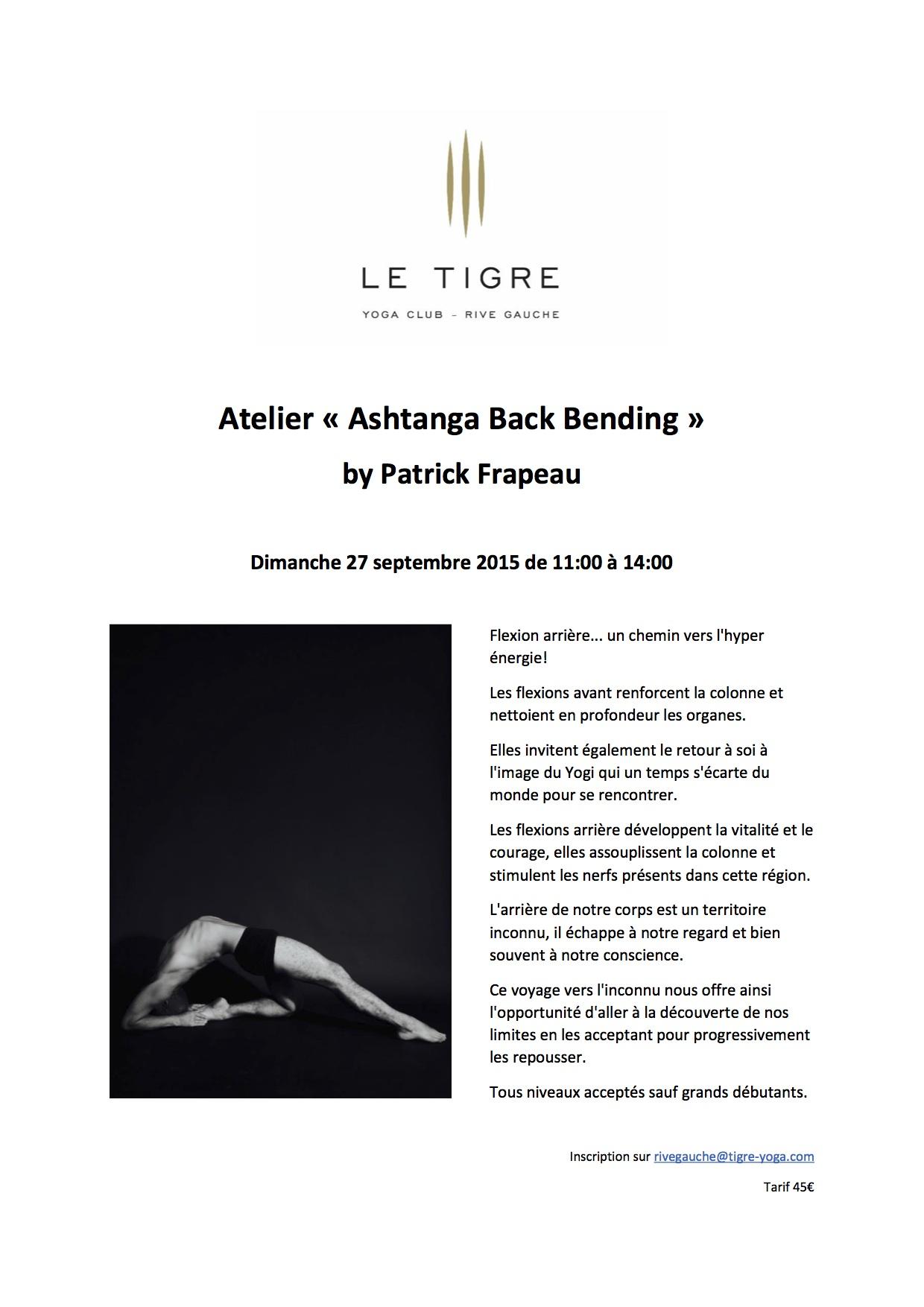 back-bend avec patrick frapeau yoga