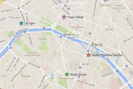 Studo de yoga à Paris avec cours de patrick frapeau