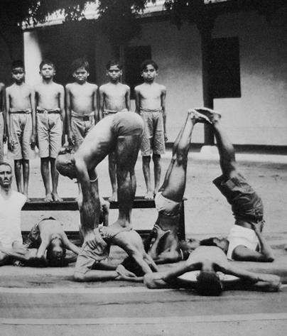 Yoga autrefois